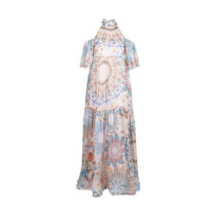 Authentic Pre Owned Temperley London Quartz Multicoloured Maxi Dress (PSS-414-00010)