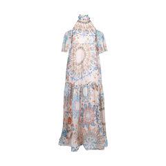 Quartz Multicoloured Maxi Dress