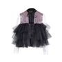 Authentic Second Hand Rasario Ruffle Tulle Sequin Jacket (PSS-414-00011) - Thumbnail 0