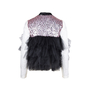 Authentic Second Hand Rasario Ruffle Tulle Sequin Jacket (PSS-414-00011) - Thumbnail 1