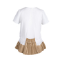 Authentic Second Hand Sacai White Pleated Top (PSS-414-00022) - Thumbnail 1