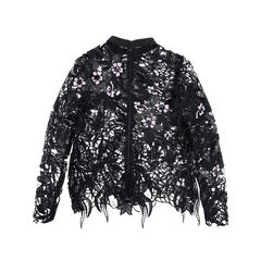 Self portrait lace crochet top multicolour 2?1549514355