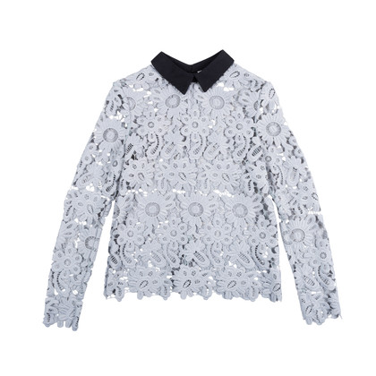 Authentic Second Hand Self-Portrait Daisy Lace Top (PSS-414-00014)