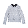 Authentic Second Hand Self-Portrait Daisy Lace Top (PSS-414-00014) - Thumbnail 0