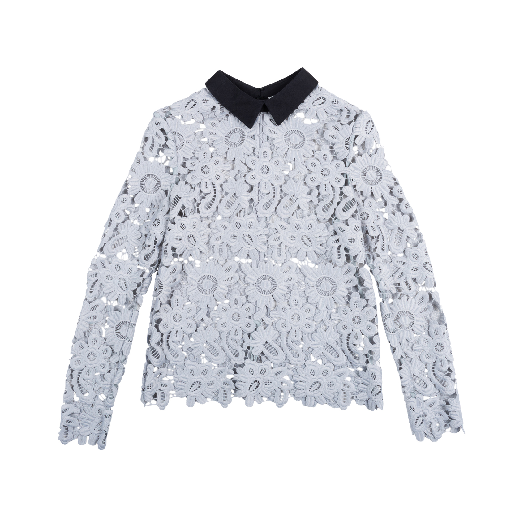 23b94a53a9a8 Authentic Second Hand Self-Portrait Daisy Lace Top (PSS-414-00014) | THE  FIFTH COLLECTION