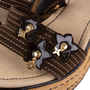 Authentic Pre Owned Louis Vuitton Lace Up Wedge Sandals (PSS-099-00024) - Thumbnail 6