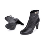 Authentic Second Hand Hermès Medor Black Buckle Booties (PSS-099-00027) - Thumbnail 1
