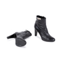 Authentic Second Hand Hermès Medor Black Buckle Booties (PSS-099-00027) - Thumbnail 2