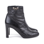 Authentic Second Hand Hermès Medor Black Buckle Booties (PSS-099-00027) - Thumbnail 4