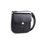 Authentic Pre Owned Comtesse When Angels Travel Black Sling Leather Satchel Bag (PSS-099-00028) - Thumbnail 1