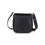 Authentic Pre Owned Comtesse When Angels Travel Black Sling Leather Satchel Bag (PSS-099-00028) - Thumbnail 2