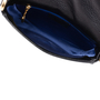 Authentic Pre Owned Comtesse When Angels Travel Black Sling Leather Satchel Bag (PSS-099-00028) - Thumbnail 5