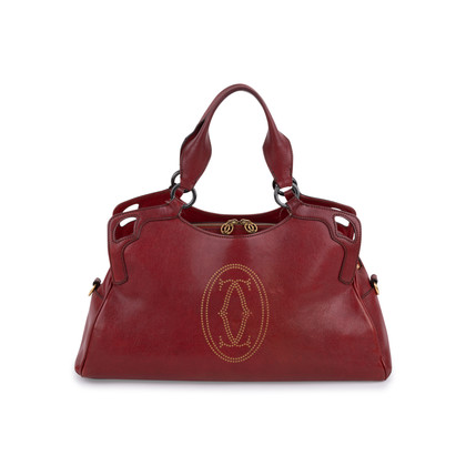 Authentic Second Hand Cartier Marcello Medium Bag (PSS-099-00031)