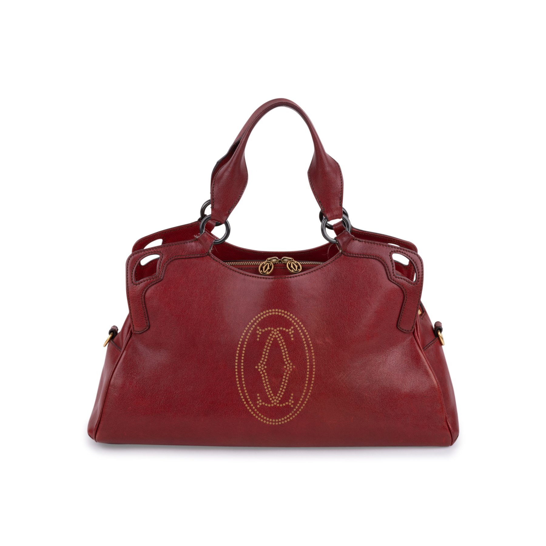 Authentic Second Hand Cartier Marcello Medium Bag (PSS-099-00031 ... af022ccf59118
