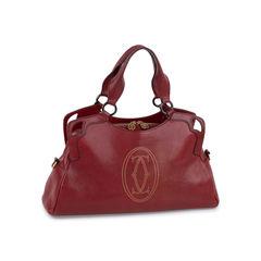 Cartier marcello medium bag red 2?1549526053