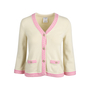 Authentic Second Hand Chanel Cropped Cashmere Cardigan (PSS-586-00006) - Thumbnail 0