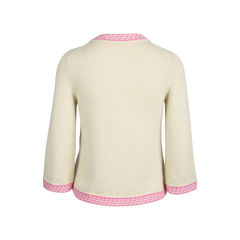 Chanel cropped cashmere jacket 2?1549526610