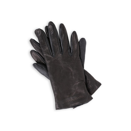 Authentic Second Hand Emporio Armani Leather Gloves (PSS-200-01448)