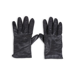 Emporio armani leather gloves black 2?1549529328