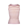 Authentic Pre Owned Missoni Sleeveless Tie Knot Top (PSS-099-00034) - Thumbnail 1
