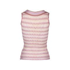 Missoni sleeveless tie knot top multicolour 2?1549865399