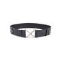 Authentic Second Hand Yves Saint Laurent Patent Hook Rivet Belt (PSS-034-00027) - Thumbnail 0