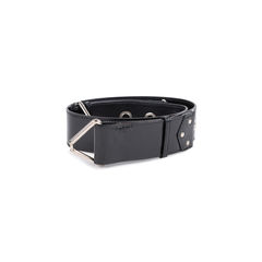 Yves saint laurent patent hook rivet belt 2?1549868581