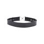 Authentic Second Hand Yves Saint Laurent Patent Hook Rivet Belt (PSS-034-00027) - Thumbnail 2