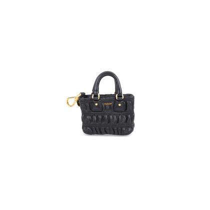 Authentic Pre Owned Prada Mini Bag Charm Keychain (PSS-034-00030)