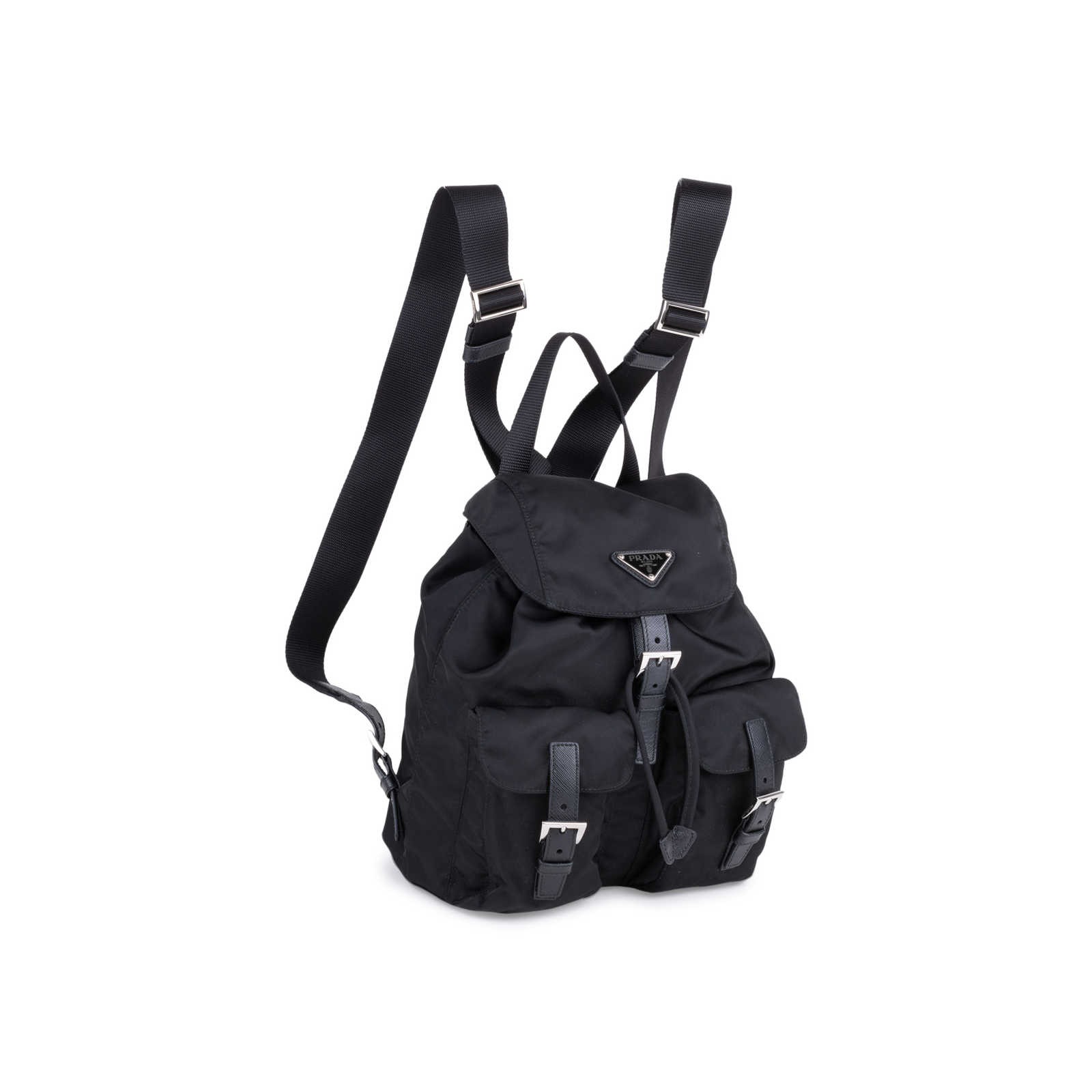 e8a23bf82ef5 ... Authentic Second Hand Prada Small Vela Nylon Backpack (PSS-034-00031)  ...