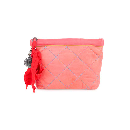 Authentic Second Hand Lanvin Quilted Leather Pouch (PSS-034-00033)