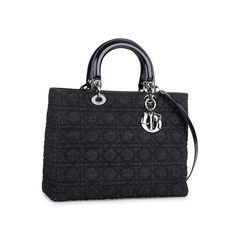 Christian dior denim large lady dior bag 2?1549869021