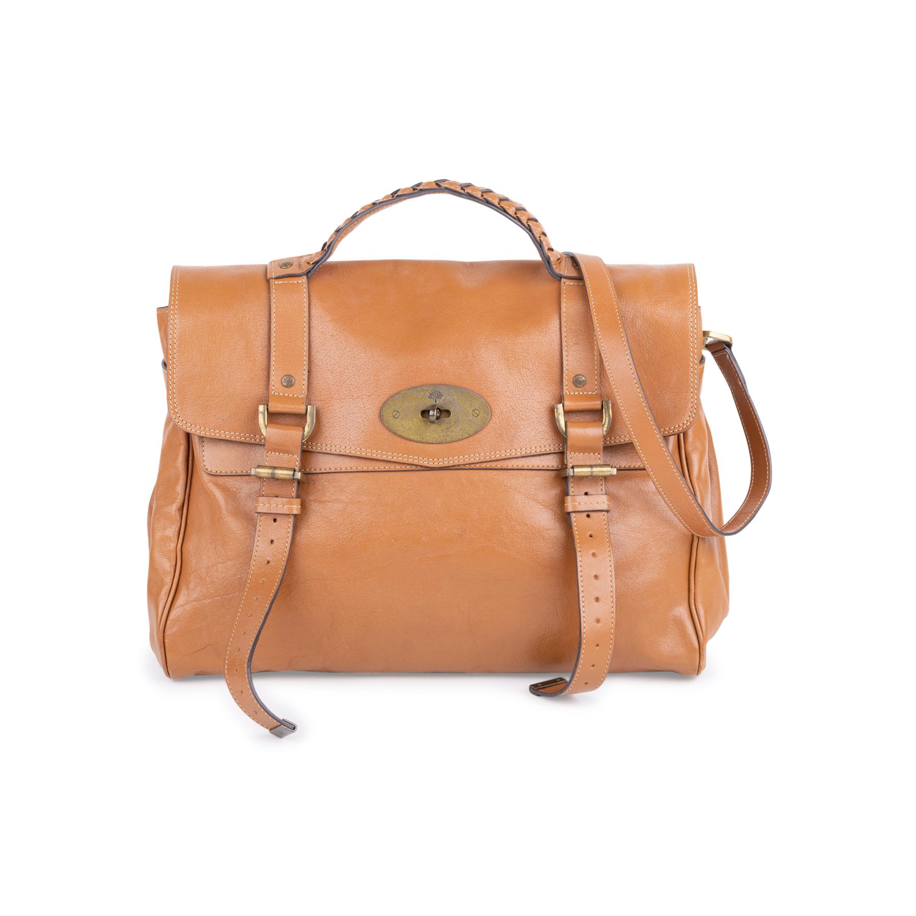 Authentic Second Hand Mulberry Alexa Satchel Bag (PSS-228-00070 ... d80d6520b517b