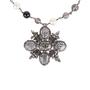 Authentic Second Hand Chanel Paris Edinburgh Cross Necklace (PSS-600-00014) - Thumbnail 0