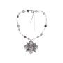 Authentic Second Hand Chanel Paris Edinburgh Cross Necklace (PSS-600-00014) - Thumbnail 1