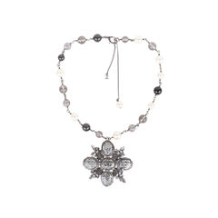 Chanel paris edinburgh cross necklace 2?1549870091