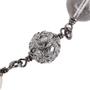Authentic Second Hand Chanel Paris Edinburgh Cross Necklace (PSS-600-00014) - Thumbnail 3