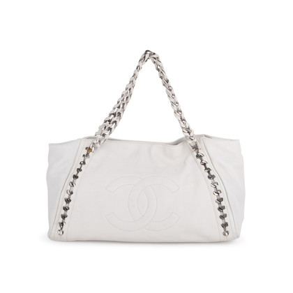 Authentic Second Hand Chanel East West Modern Chain Tote Bag (PSS-600-00017)