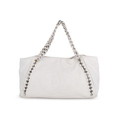 East West Modern Chain Tote Bag