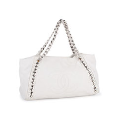 Chanel east west modern chain tote bag 2?1549870270