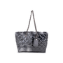 Authentic Second Hand Chanel Vinyl Funny Tweed Tote Bag (PSS-600-00018) - Thumbnail 0