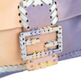 Authentic Second Hand Fendi Whipstitch Giant Baguette (PSS-600-00019) - Thumbnail 5