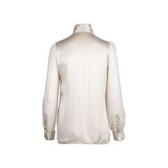 Dolce gabbana ruffle front blouse 2?1550030891