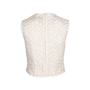 Authentic Second Hand Simone Rocha Floral Embroidered Mesh Blouse (PSS-034-00038) - Thumbnail 1