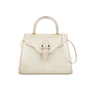 Authentic Second Hand Judith Leiber Crystal Embellished Top Handle Suede Bag (PSS-111-00004) - Thumbnail 0