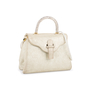 Authentic Second Hand Judith Leiber Crystal Embellished Top Handle Suede Bag (PSS-111-00004) - Thumbnail 1