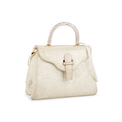 Judith leiber crystal embellished top handle suede bag 2?1550032699