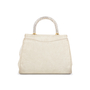 Authentic Second Hand Judith Leiber Crystal Embellished Top Handle Suede Bag (PSS-111-00004) - Thumbnail 2