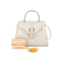 Authentic Second Hand Judith Leiber Crystal Embellished Top Handle Suede Bag (PSS-111-00004) - Thumbnail 3