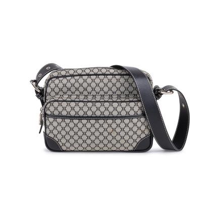 Authentic Second Hand Céline Crossbody Logo Bag (PSS-111-00005)